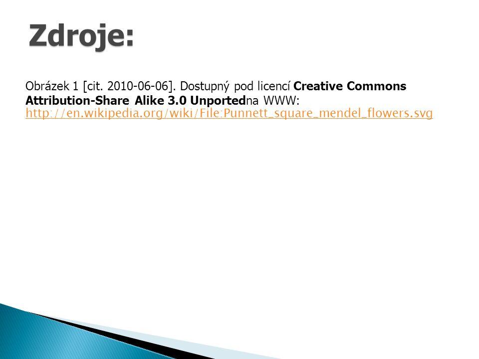 Zdroje: Obrázek 1 [cit. 2010-06-06]. Dostupný pod licencí Creative Commons Attribution-Share Alike 3.0 Unportedna WWW: